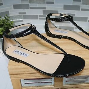 Jimmy Choo black sandals